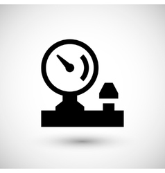 Manometer icon symbol vector