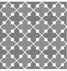 Seamless grey and white sacred pattern vector