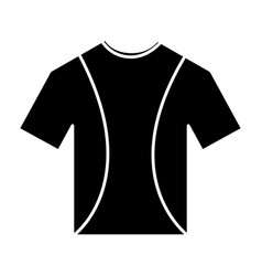 T shirt crew neck icon image vector