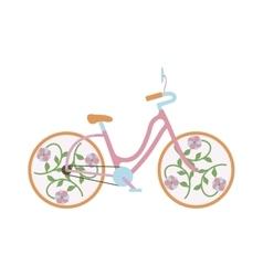 Vintage old bike vector image vector image