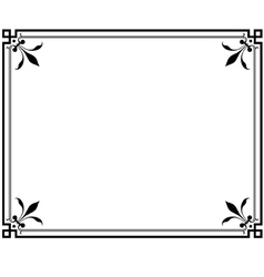 frame magasin 2 vector image vector image