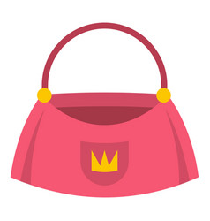 Bag icon isolated vector