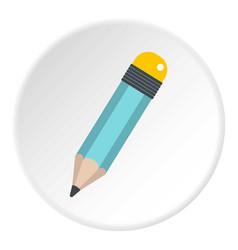 Pencil icon circle vector