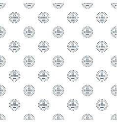 Prototype 3d printing pattern seamless vector