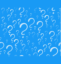 Question signs colorful vector