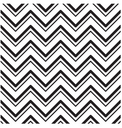 black and white chevrons seamless pattern backgrou vector image