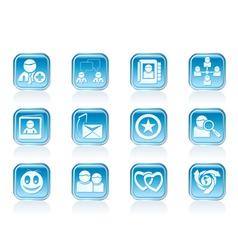 Internet Community vector image vector image