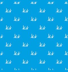 pocket flashlight pattern seamless blue vector image