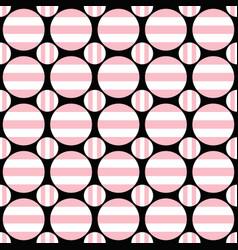 abstract seamless pattern - circle design vector image