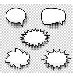 bubbles comic style duddle cartoon vector image