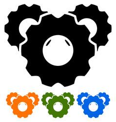 Cogwheels cogwheel icons vector