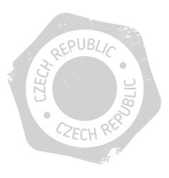 Czech Republic stamp vector image