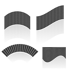 distorted mesh of rectangles can be used as vector image