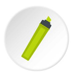 Marker icon circle vector