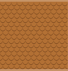 Roof tiles seamless pattern vector