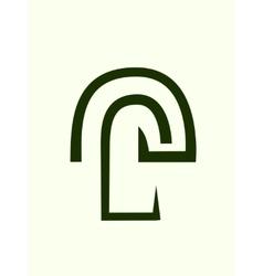 Tree symbol icon vector