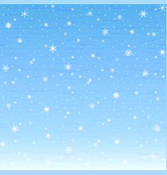 winter background glowing snowflakes eps 10 vector image
