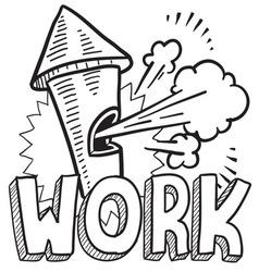 Work vector image