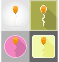 Celebration flat icons 04 vector