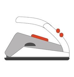 modern iron icon vector image