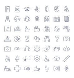 49 help icons vector