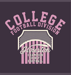 College football division vector