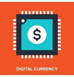 Digital currency vector