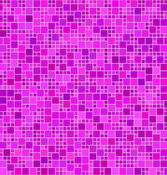 Magenta square mosaic background vector