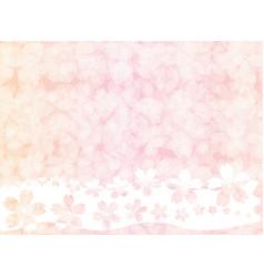 pink blossom vintage pastel wallpaper background vector image