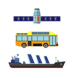 Sun energy transport vector