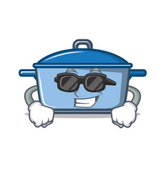 super cool kitchen character cartoon style vector image
