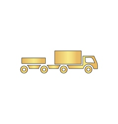 Vehicles computer symbol vector image