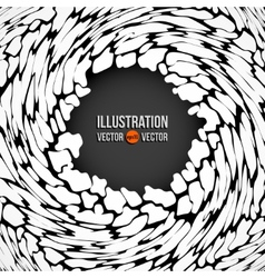 abstract background of white spots vector image