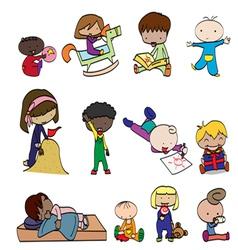 babys 1 vector image vector image