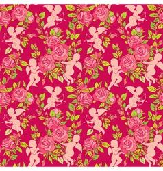 angel rose seamless 2 380 vector image