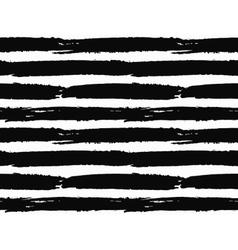 Brush Strokes Striped Pattern vector