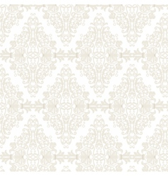 Damask Pattern ornament Imperial style vector image