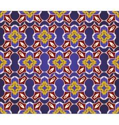 Decorative seamless pattern in ottoman motif vector