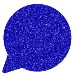 hint balloon icon grunge watermark vector image