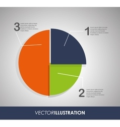 Infographic design vector image vector image