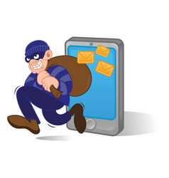 personal date thief vector image