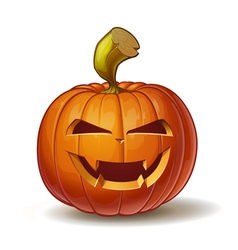Pumpkins Vimpire 1 vector image