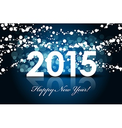 2015 - Happy New year background vector image