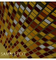 abstract contrast drawing with squares vector image vector image