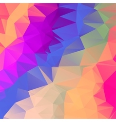 Abstract polygonal mosaic background EPS vector image vector image