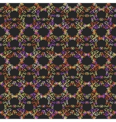 Mono line pattern for your design vector image vector image