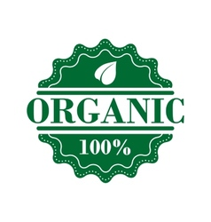Bio organic label vector