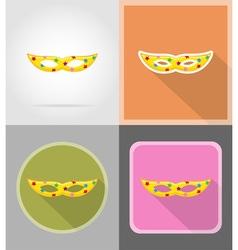 celebration flat icons 11 vector image