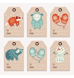 Christmas Gift Tags For Kids.Kids Christmas Gift Tag Vector Images Over 100