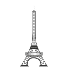 Eiffel tower paris landmark vector